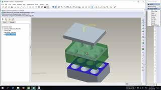 [PRO/E] How to make a Mold Cavity: Tách khuôn ống dầu cái phểu