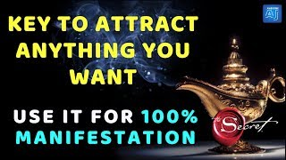 Most Important Law of Attraction Technique To ATTRACT ANYTHING You Want | For 100% MANIFESTATION ✅