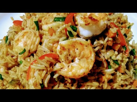 How to make Prawns Fried Rice | झींगा/ कोळंबी  फ्राइड राइस | جھینگا فرائ رائس | Saba Khan