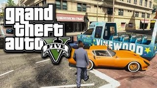 ★ GTA 5 - FUNNY MOMENTS! Vinewood Tour, Army Vs. MAFIA, and MORE!