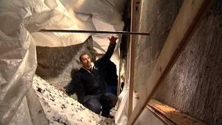 Mura innervägg källare