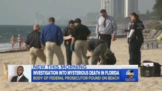 Federal Prosecutor Found Dead in Debbie Wasserman Schultz' District
