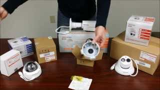 Various Hikvision IP Camera Mounting Options (Includes New EXIR) with unboxing by Intellibeam.com