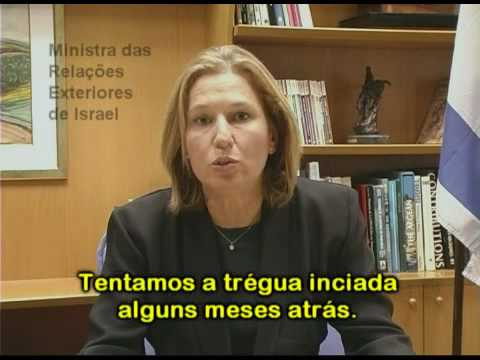 Tzipi Livni 08-jan-2009 - english - 1325 CTV