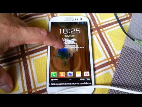 Instalando a Ômega ROM v36 no Samsung Galaxy S3 GT i9300