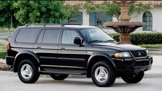 2001 Mitsubishi Montero Sport Start Up and Review 3.5 L V6