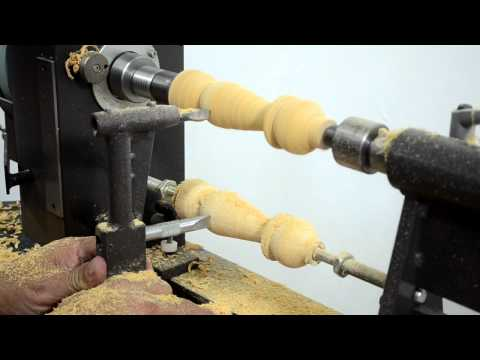 MegaTurn Woodturning Lathe: Copying from a Sample