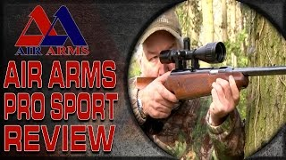 Air Arms Pro Sport Review and Field Target Shooting