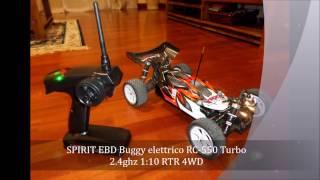 6 Leds Light on Spirit EBD Buggy RC RH1016 RC-550 Turbo 2.4ghz 1:10 4WD