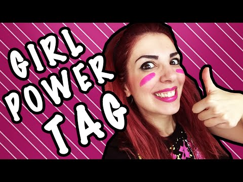 GIRL POWER TAG #PinkIsGood