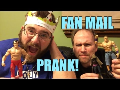Grim gets more DISGUSTING Fan Mail and some great WWE Wrestling Action Figures