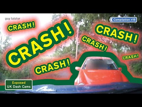 HORRIFIC BLIND CORNER CRASH!!! COMPILATION #18