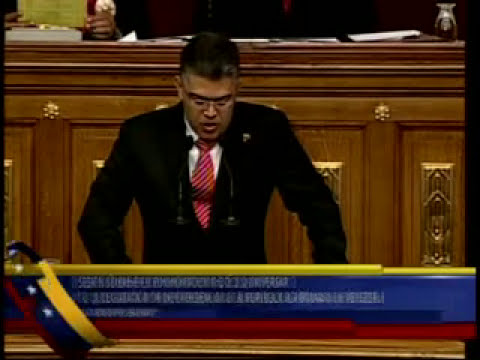 Discurso de Orden de Elías Jaua en la Asamblea Nacional a propósito del 5 de Julio de 2013