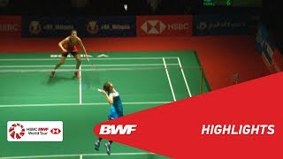 PERODUA Malaysia Masters 2019   WS - F - HIGHLIGHTS   BWF 2019