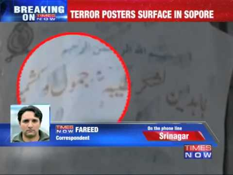 Terror posters surface in Sopore