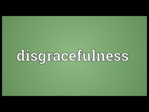 Header of disgracefulness