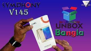 Symphony V145 Unboxing & Review in Bangla | UM |