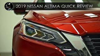 2019 Nissan Altima Quick Review | Mostly Improved