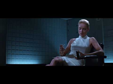 Basic Instinct - Detective Interview Scene 1080p HD