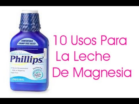 10 Usos Para La Leche de Magnesia