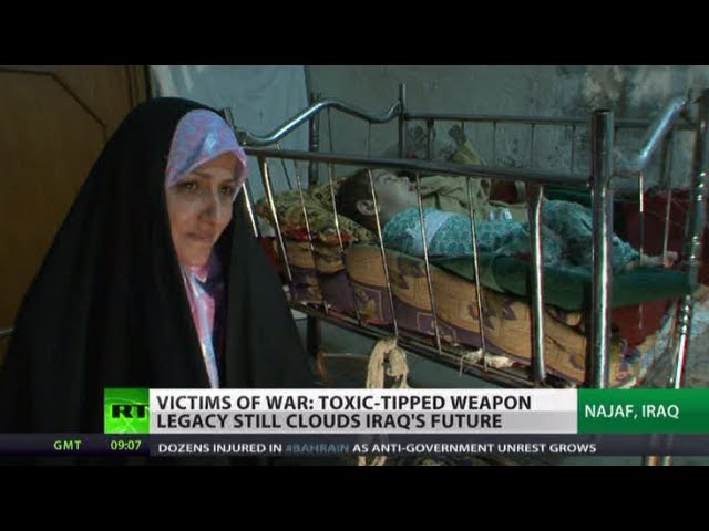 Toxic US weapons blamed for Iraq's birth-defect 'Hiroshima'
