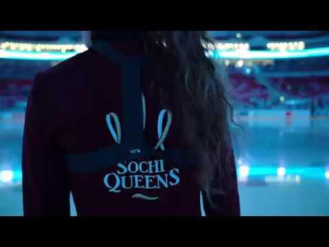 Кабы не было зимы: выступление Sochi Queens на льду