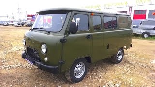 2016 UAZ 390995. Start Up, Engine, and In Depth Tour.