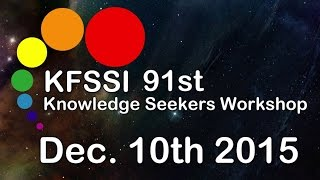 91st Knowledge Seeker Workshop HD