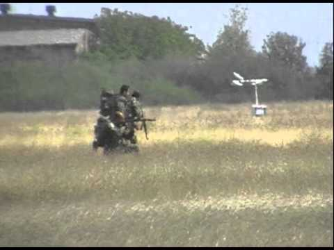 bulgarian paratroops show