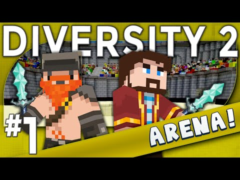 Minecraft - Diversity 2 - Xephos Cube Slayer (Arena Part 1)