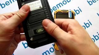 Видео обзор защищенного смартфона Land Rover A8
