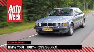 BMW 750i - 1987 – 299.960 km - Klokje Rond