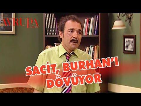 Sacit, Burhan'ı Dövüyor
