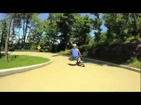 Arbor Skateboards: Kody Noble Luge Track Session