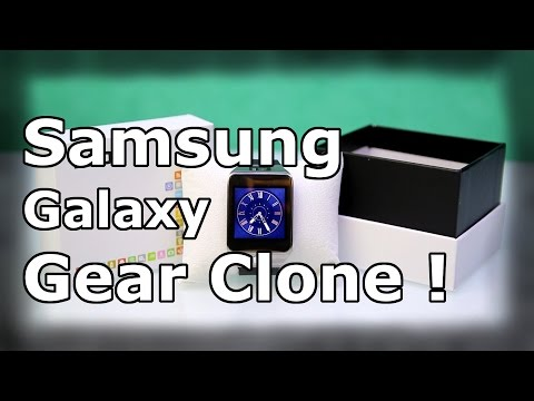 No.1 G2 Smartwatch Review - Samsung Galaxy Gear 2 Clone ! - Waterproof & Heartbeat Monitor ! [HD]