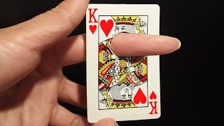 Finger Through Card - Awesome Magic Card Trick To Impress Anyone