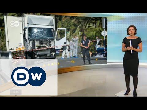 Теракт в Ницце - во Франции объявлен трехдневный траур - DW Новости (15.07.2016)