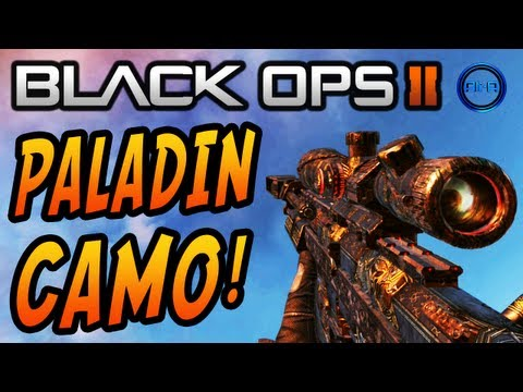 Pack a Punch Camo Black Ops 2 ▶ Black Ops 2 Paladin Camo