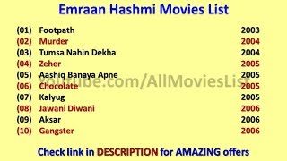 download lagu Emraan Hashmi Movies List gratis