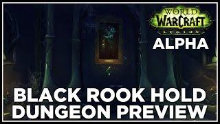 Black Rook Hold - 1.6M HP Blood DK - Legion Dungeon Alpha
