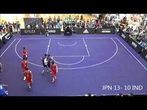 3x3 PREMIER EXE WORLD GAMES CHAINA 【Quarter finals】 JPN vs  IND
