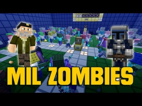 Minecraft: MIL ZOMBIES! - Supervivencia (Alexby y Willyrex) [PARTE 1/2]