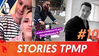 TPMP : Cyril Hanouna en vélo, Kelly Vedovelli… le meilleur des stories Instagram des chroniqueurs