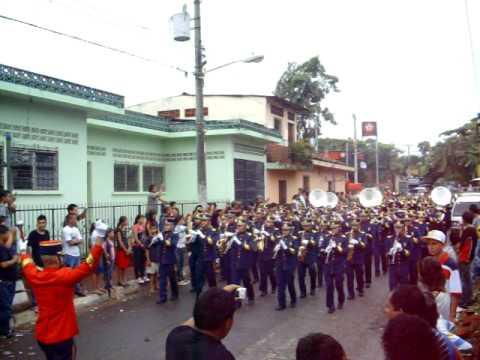 Instituto Nacional General Manuel José Arce (ARCE MARCHING BAND) 2010