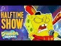 Youtube Thumbnail Super Bowl SpongeBob SquarePants Halftime 🏈Show Moment | Nick