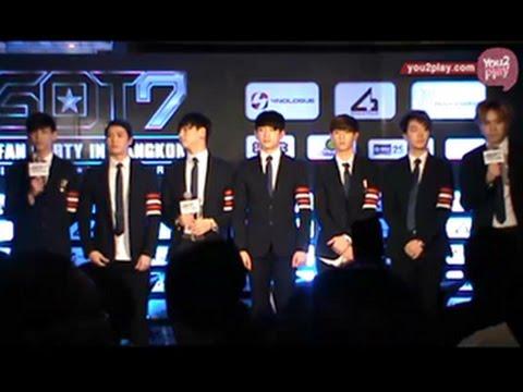 """150313 งานแถลงข่าว """"GOT7 1st Fan Party In Bangkok"""""""