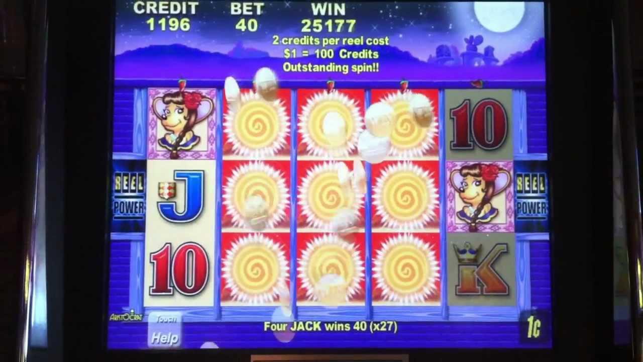 all slot machine names at the borgata