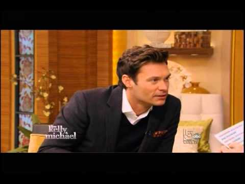 mjsbigblog.com Ryan Seacrest on Live with Kelly and Michael