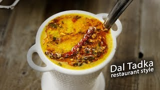 Restaurant Style Dal Tadka Recipe - Authentic Easy & Tasty Daal - CookingShooking