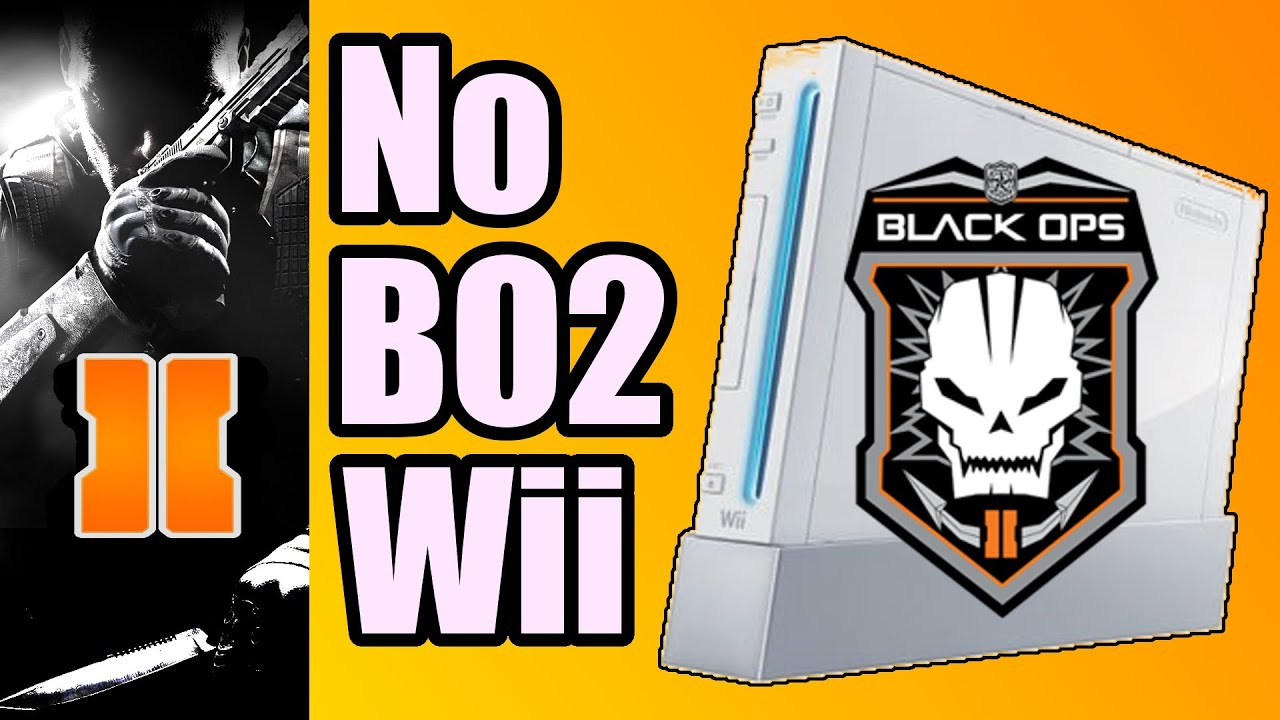 Call Of Duty 2 3ds : Sorry no black ops on wii or ds death of call